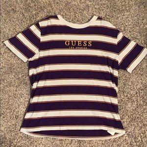 Rare Guess Striped T-Shirt.